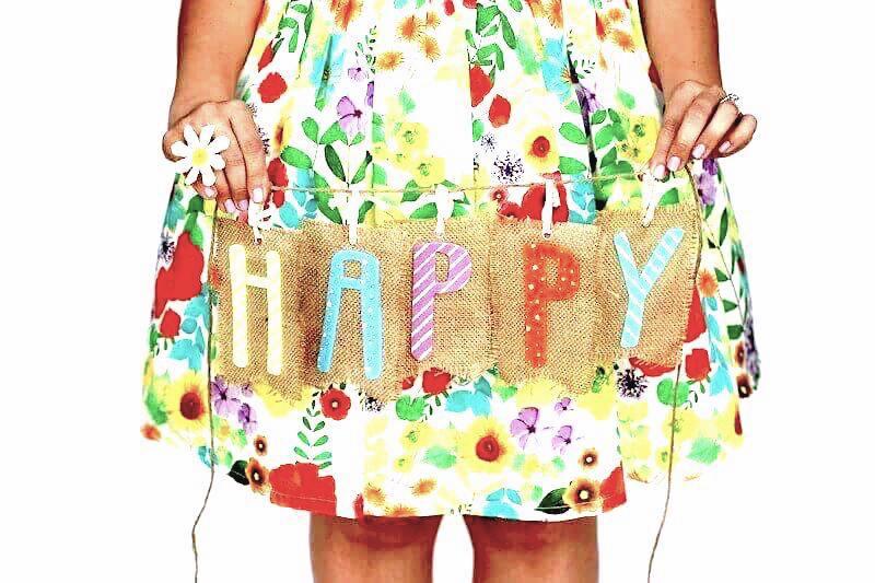 flowery skirt Happy sleep