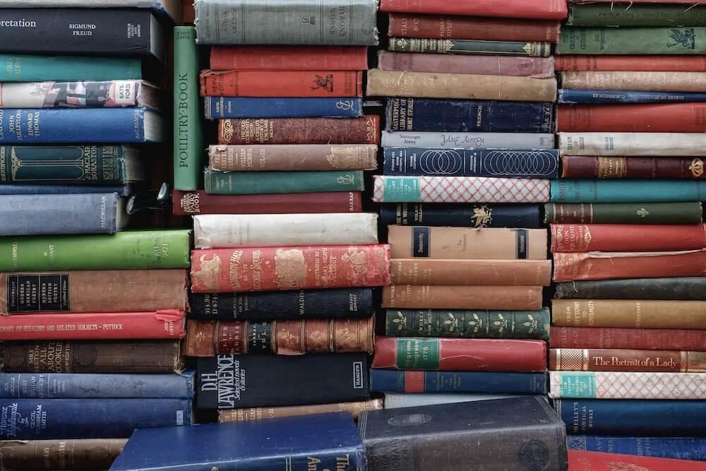 several-plie-of-books