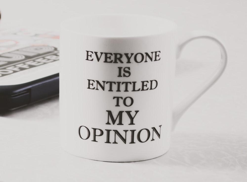 white-mug-words-opinion