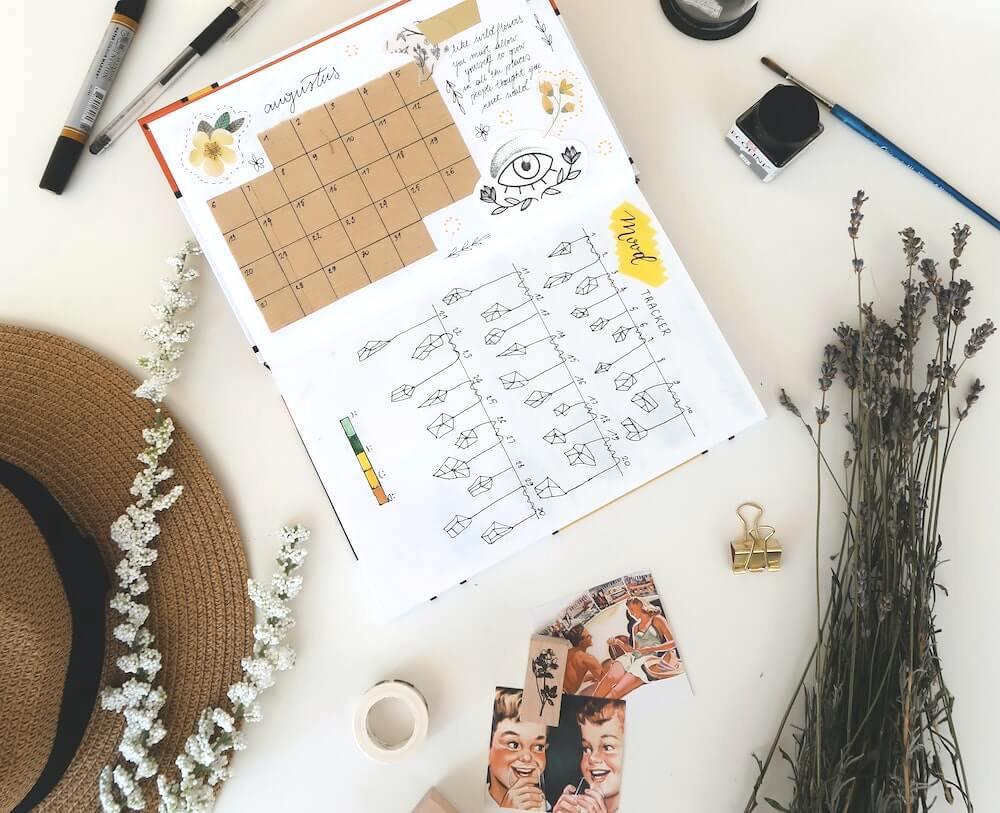bullet-journal-layout-tracker